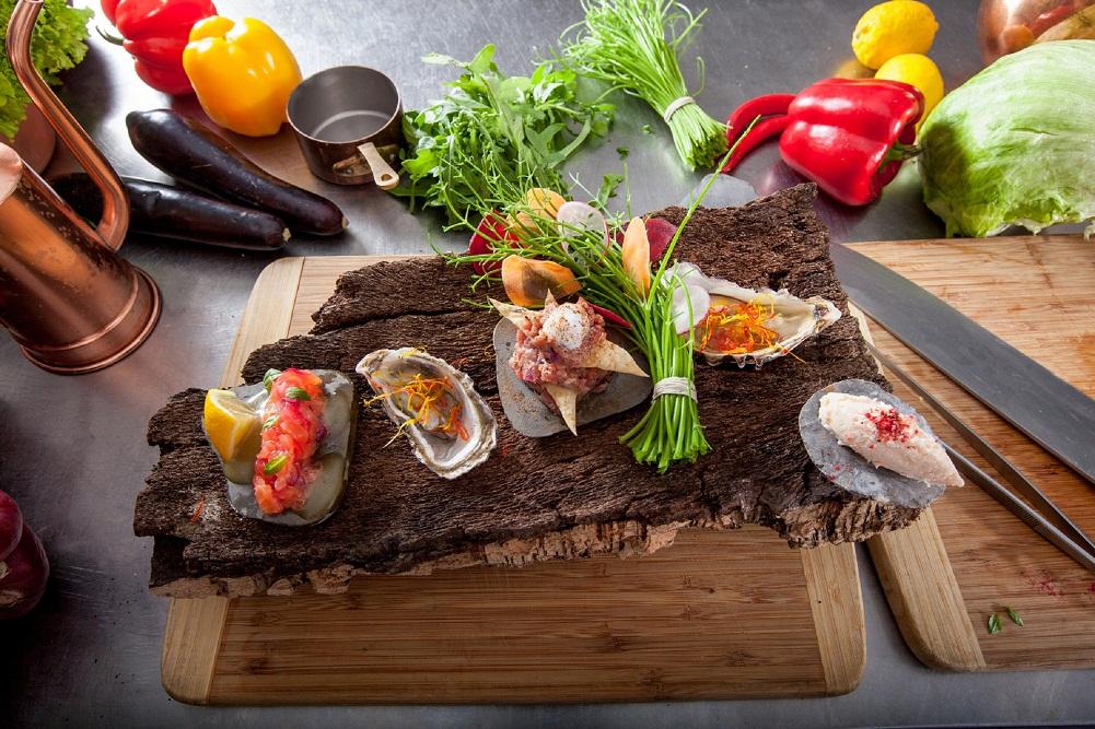 Chef Bogdan Parinov's incomparable cuisine